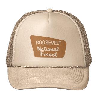 Roosevelt National Forest (Sign) Cap