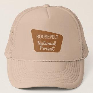 Roosevelt National Forest (Sign) Trucker Hat