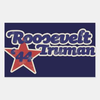 Roosevelt Truman 1944 Rectangle Stickers