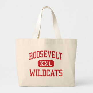 Roosevelt - Wildcats - Middle - Vista California Jumbo Tote Bag