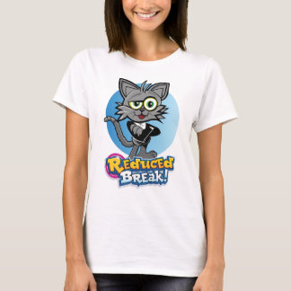 Rooskie is the crazy video cat at Reduced Break. T-Shirt
