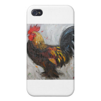 Rooster#474 iPhone 4/4S Case