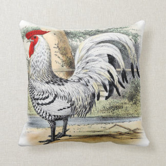 Rooster Accent Pillow Country Cottage Decor