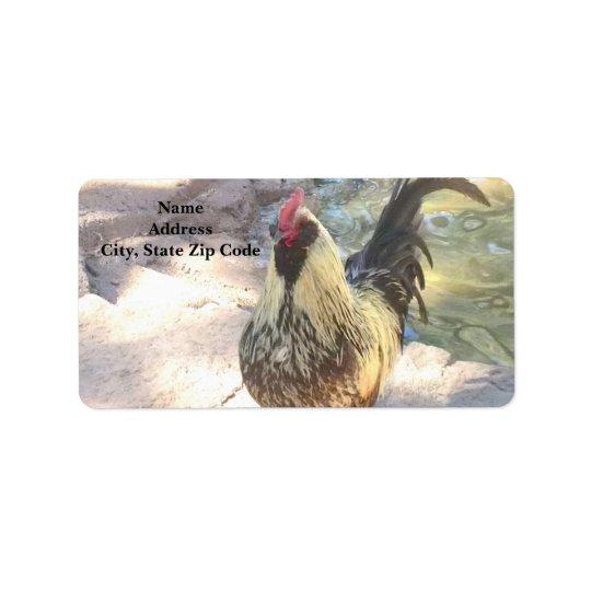 Rooster Address Labels