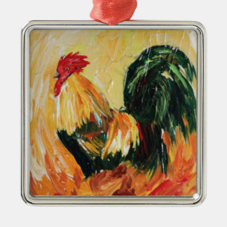 Rooster Alexis. Personal designs of roosters Christmas Ornament