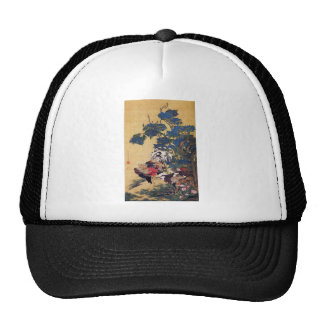 Rooster and Hen Trucker Hats