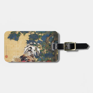 Rooster and Hen with Hydrangeas by Ito Jakuchu Tags For Bags