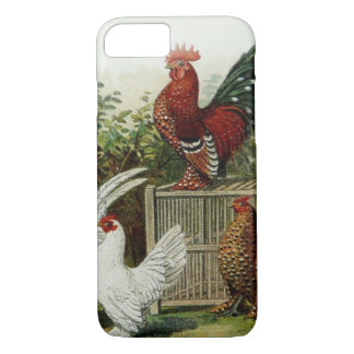 Rooster and Hens iPhone 7 Case