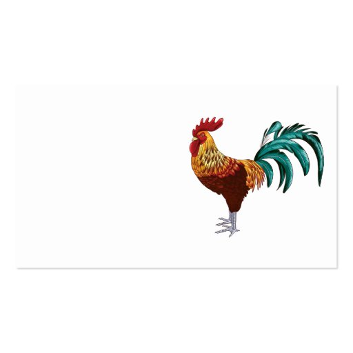 ROOSTER BUSINESS CARD TEMPLATE