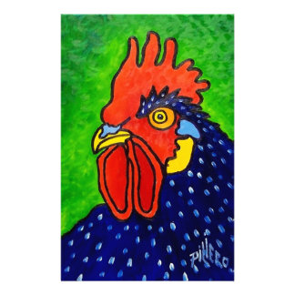 ROOSTER by Piliero Customized Stationery
