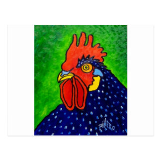 ROOSTER by Piliero Postcard