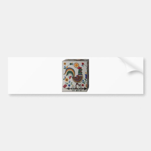 rooster caixa.JPG Bumper Stickers