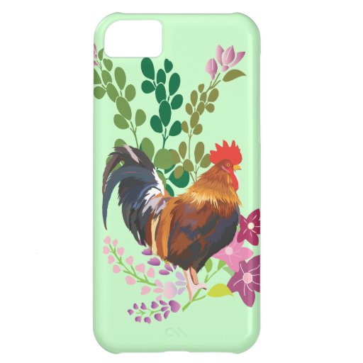 rooster cover for iPhone 5C