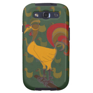 Rooster Samsung Galaxy SIII Cover