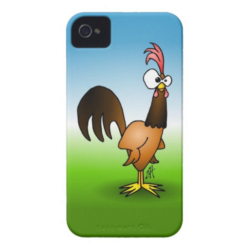 Rooster iPhone 4 Case-Mate Cases