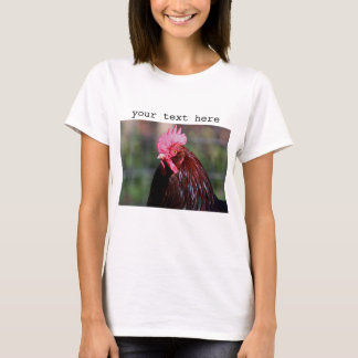 Rooster close up T-Shirt