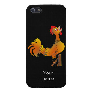 Rooster crowing iPhone 5 cases