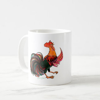 Rooster Crows Coffee Mug