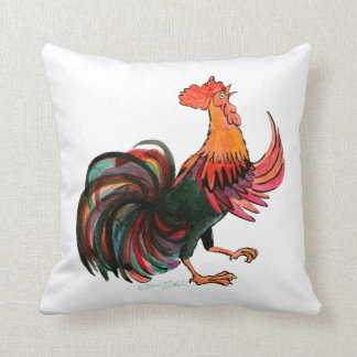 Rooster Crows Cushion