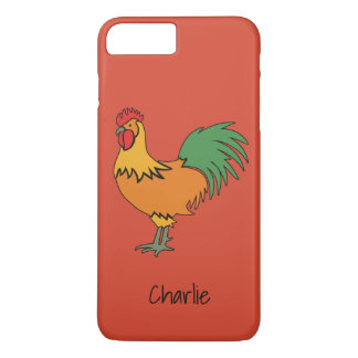 Rooster custom text & color phone cases