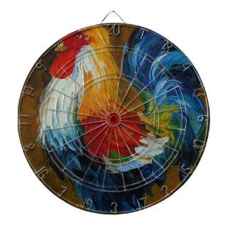 Rooster Dartboard