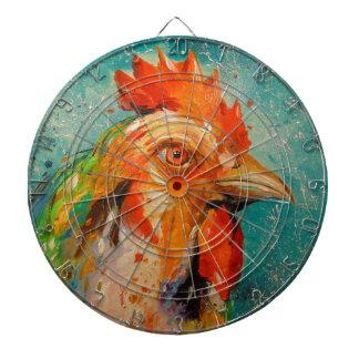 Rooster, Dartboard