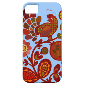 Rooster Floral iPhone 5 Cases