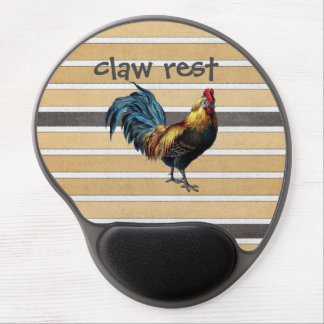 Rooster Gel Mouse Pad
