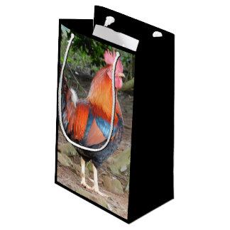Rooster gift bag
