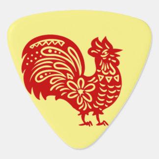 """Rooster Guitar Pick"" Plectrum"