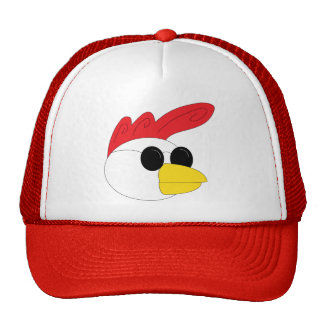 Rooster Head Mesh Hat