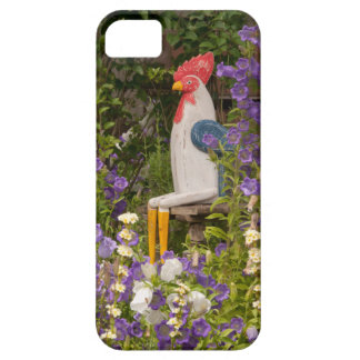 Rooster in flowers iPhone 5 cover