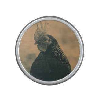 Rooster in Sepia Bluetooth Speaker