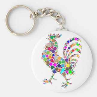 Rooster Keychain