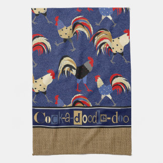 """Rooster"" KITCHEN TOWEL"