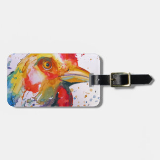 Rooster Luggage Tag