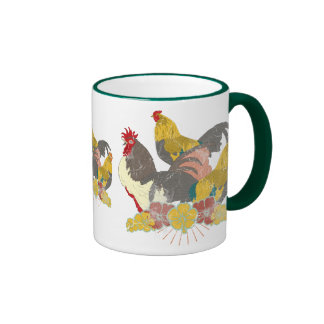 Rooster Coffee Mugs