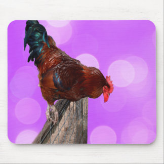 Rooster Nosey Parker, Mousepad