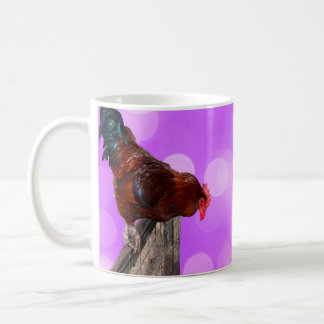 Rooster Nosy Parker, Coffee Mug