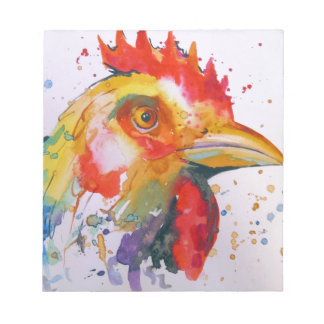 Rooster Notepad