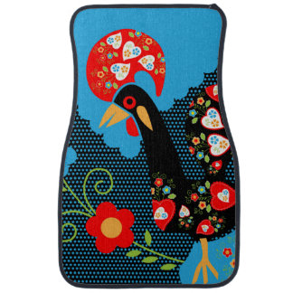 Rooster of Portugal Floor Mat
