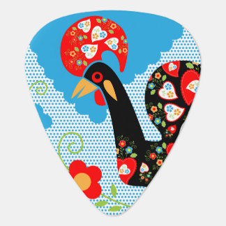 Rooster of Portugal Plectrum