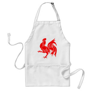 Rooster of Wallonia. Standard Apron