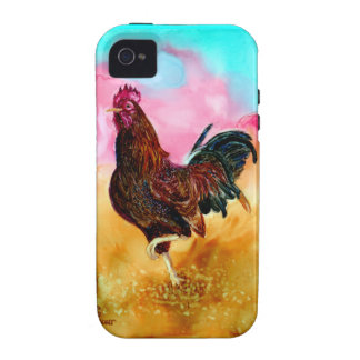 Rooster On the Run Case For The iPhone 4