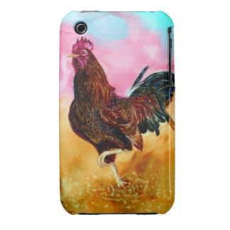 Rooster On the Run iPhone 3 Case-Mate Cases