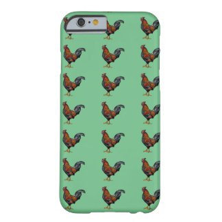 Rooster Pattern - iPhone 6/6s, Barely There Barely There iPhone 6 Case