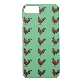Rooster Pattern - iPhone 7, Barely There iPhone 7 Case