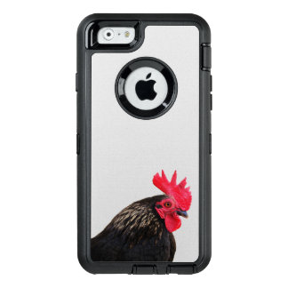 Rooster Portrait OtterBox Defender iPhone Case
