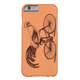 Rooster Riding a Bicycle Barely There iPhone 6 Case