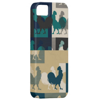 Rooster Seamless Vintage Case For The iPhone 5